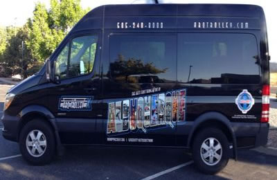 Vehicle Wrapped Graphics